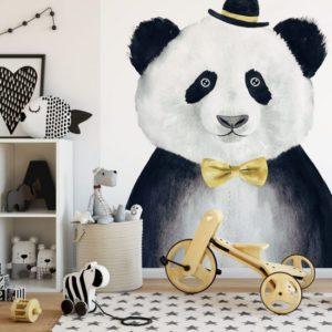 panda behang kinderkamer babybehang