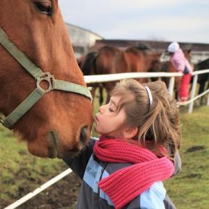 contact met dieren voorkomt astma